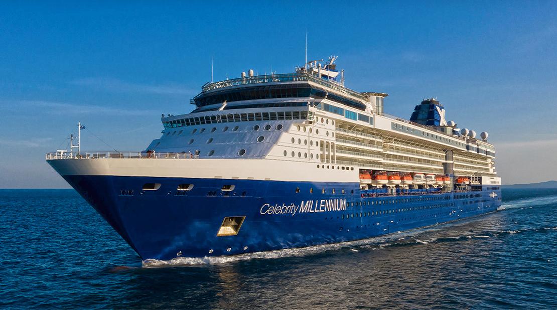 Celebrity Millennium at Sea