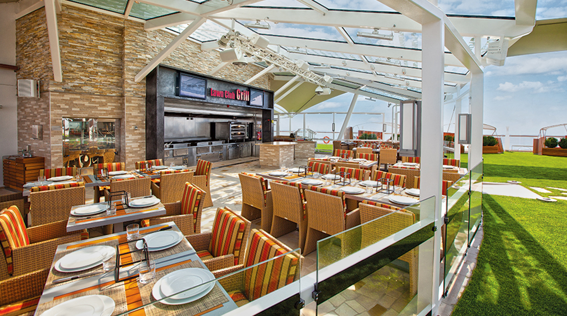 Celebrity Silhouette Lawn Club Grille