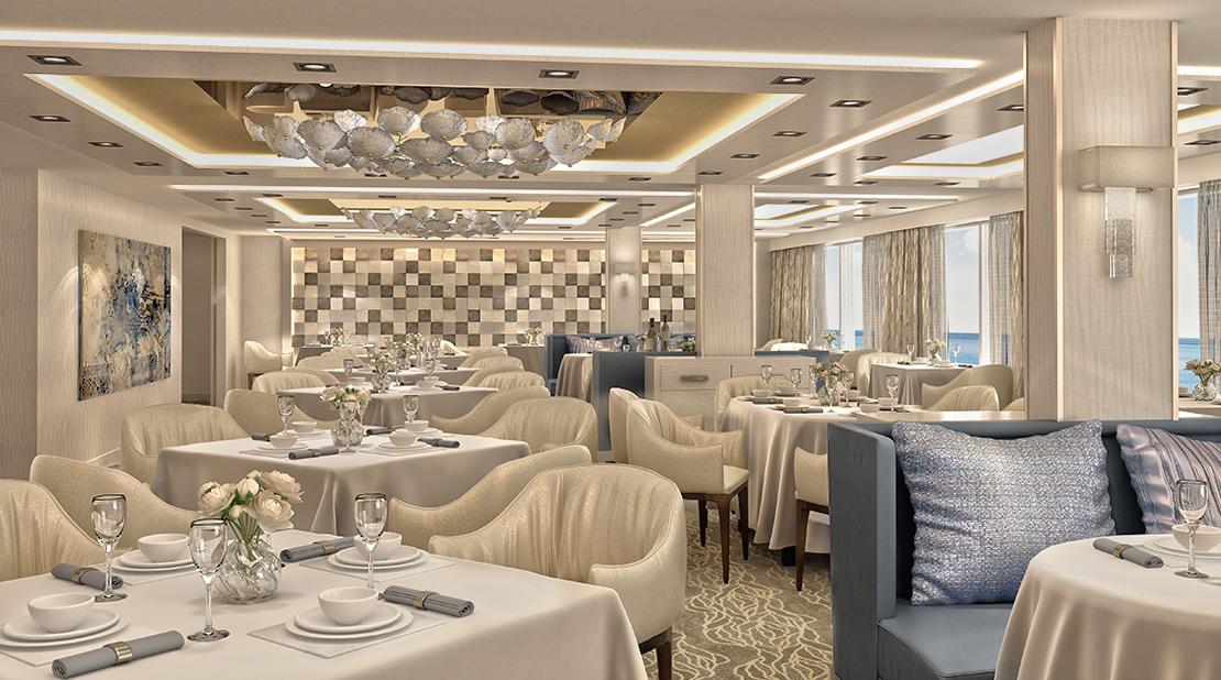 Norwegian Encore Haven Restaurant