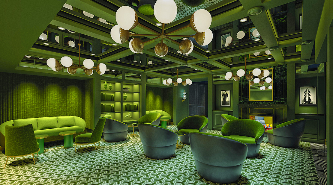 Norwegian Encore Green Room