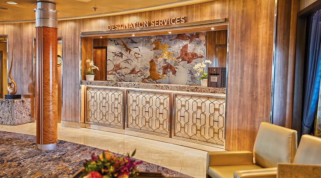 Seven Seas Voyager Destination Services