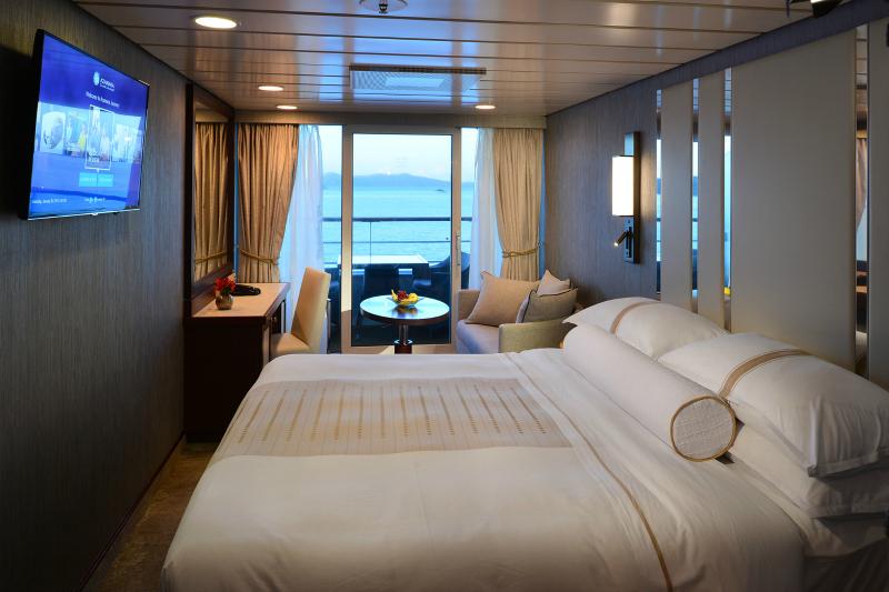 Cruise and stay tailor made azamara for Alaska cruise balcony room