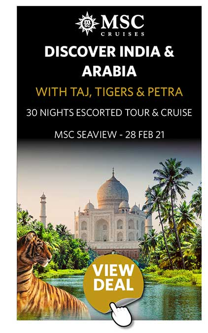 Discover India & Arabia