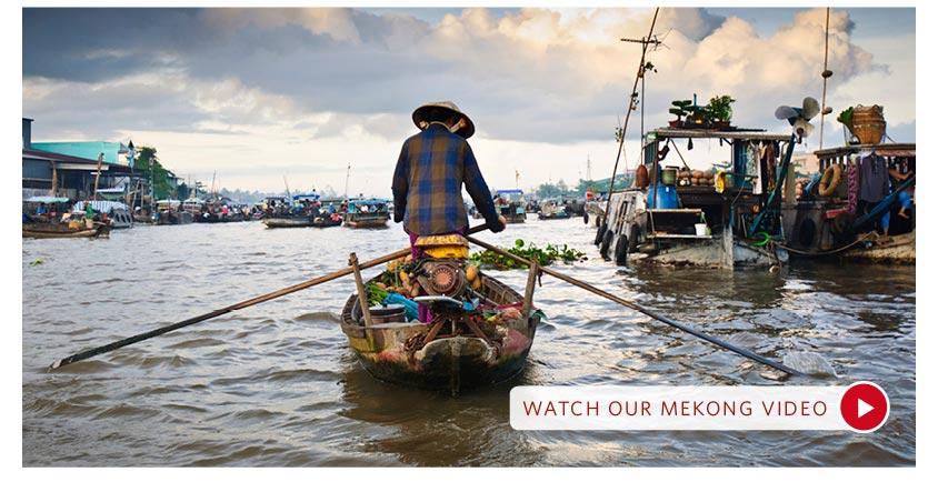 вьетнамская лодка с мотором