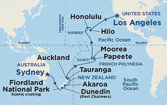 Cruise.co.uk | Cruise and Stay Tailor Made - Princess ... on map of hawaii, map of south pacific, map of spain, map of fiji, map of thailand, map of french polynesia, map of seychelles, map of costa rica, map of switzerland, map of bahamas, map of bali, map of brazil, map of moorea, map of carribean, map of pacific ocean, map of austrailia, map of kwajalein, map of bora bora, map of malaysia, map of new zealand,