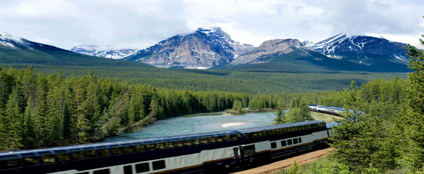 Voyage of Wilderness & Wildlife with Rocky Mountaineer & Alaskan Glaciers