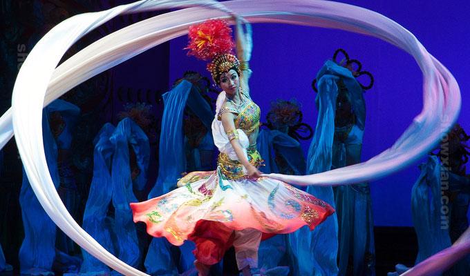 Tang Dynasty Dancing Shown