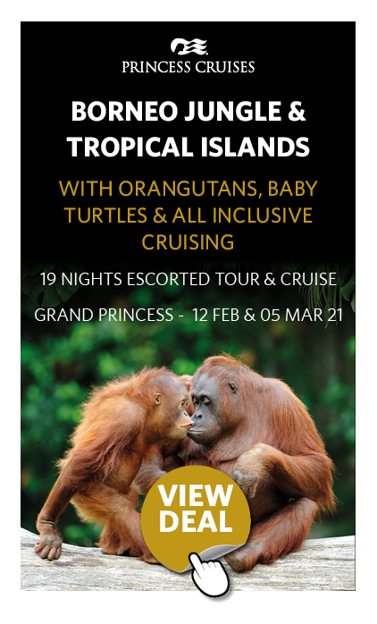Borneo Jungle & Tropical Islands