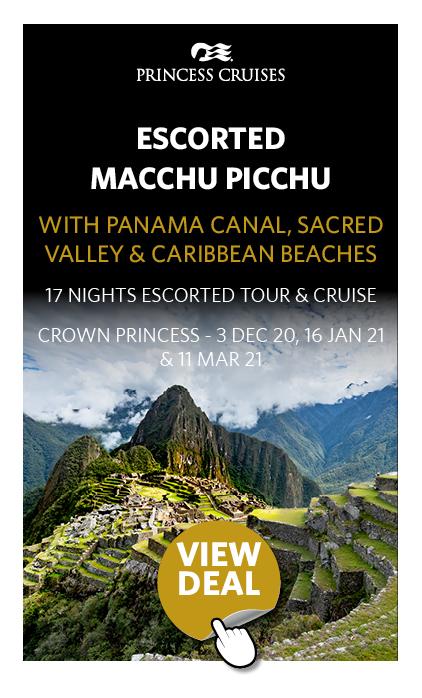 Escorted Machu Picchu