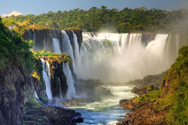 Iguazu Falls & Christ Redeemer With Tango Show & Transatlantic Sailing