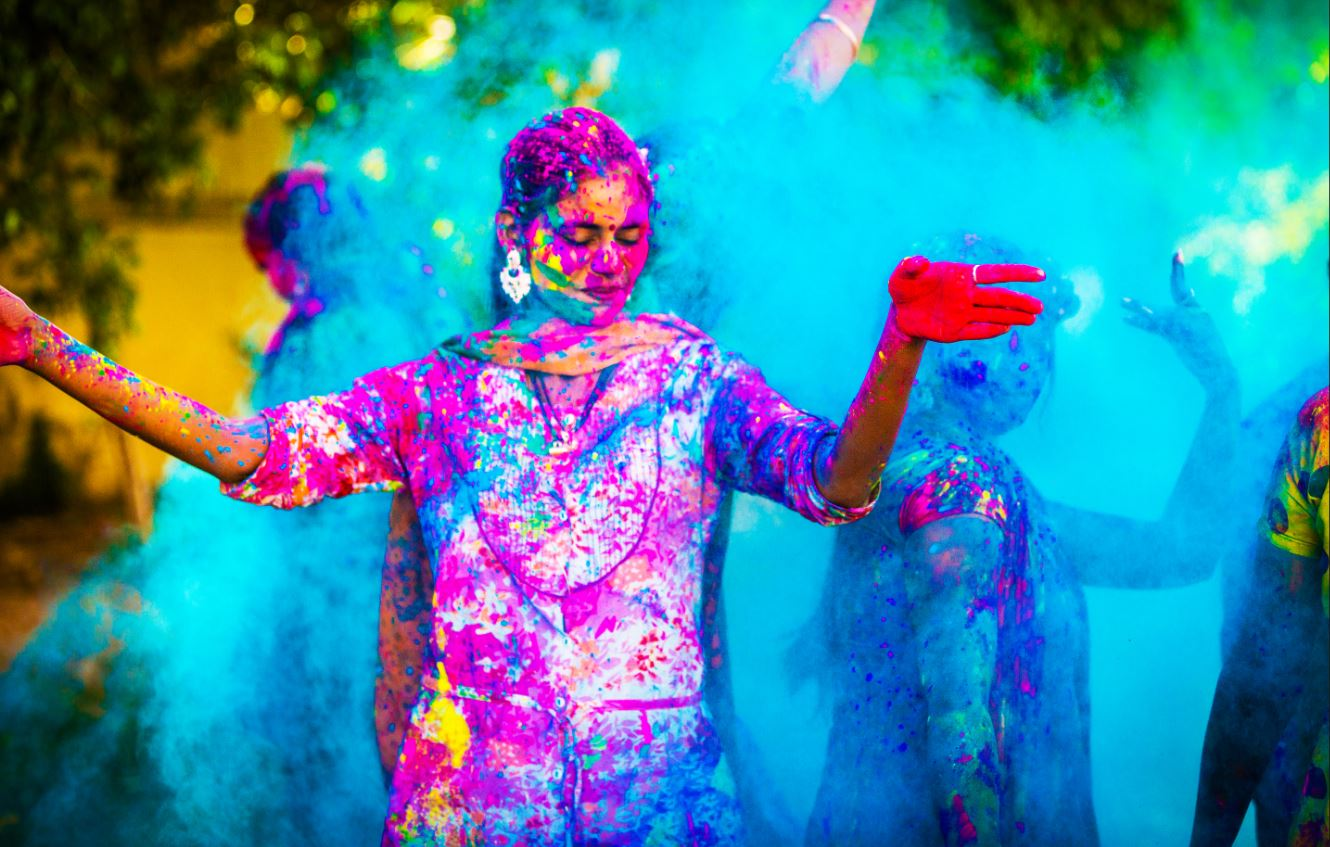 India's Golden Triangle with The Festival of Colours