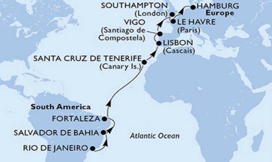 www CRUISE co uk | Cruise and Stay Tailor Made - MSC Cruises