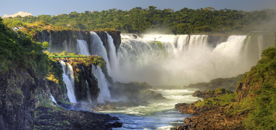 NEW! 5* Ultimate Iguassu Falls, Copacabana Beach with Glaciers & Fjords of South America