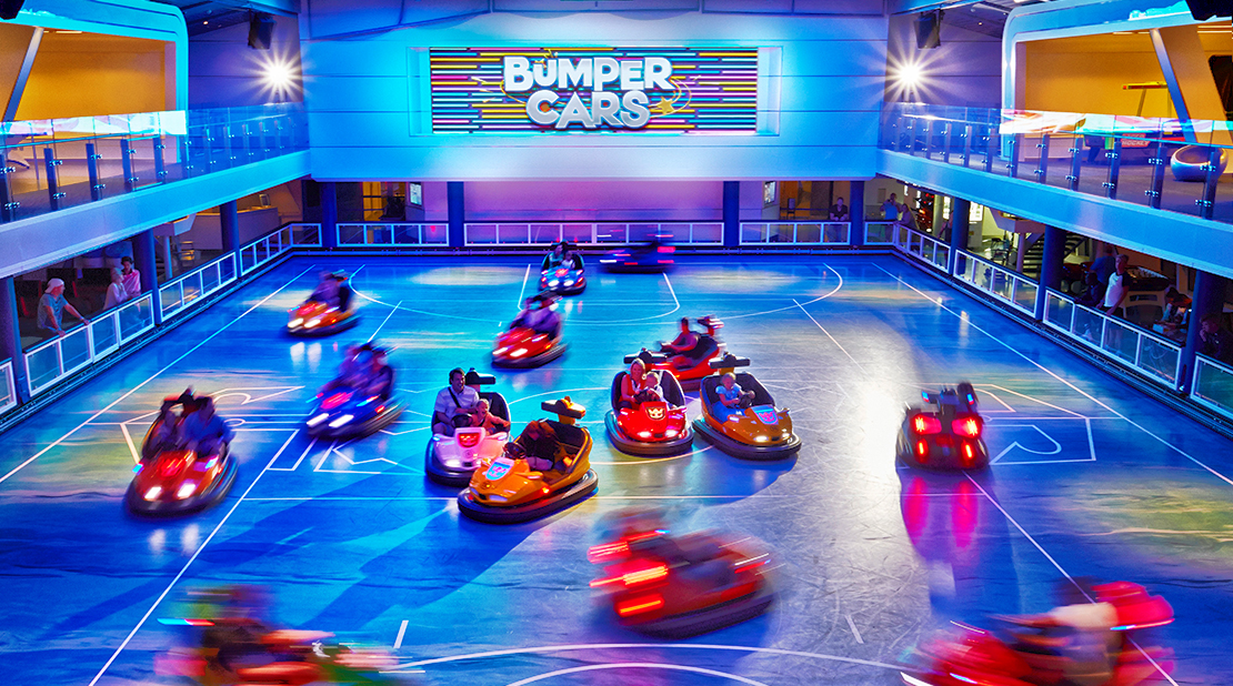 Royal Caribbean Anthem of the seas Bumper Cars