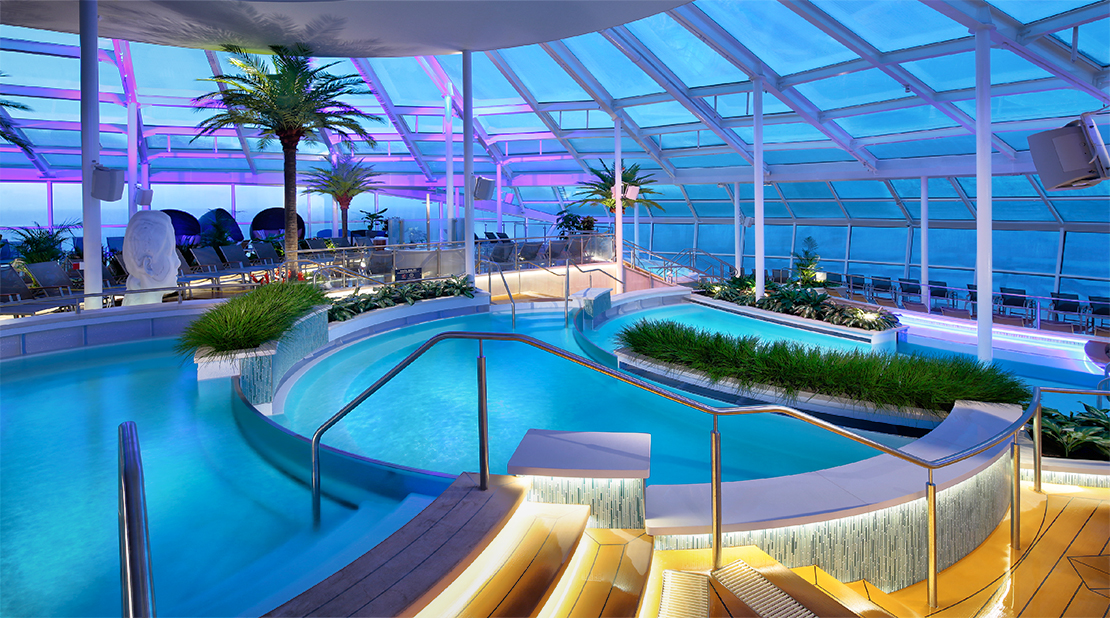 Royal Caribbean Anthem of the seas Solarium