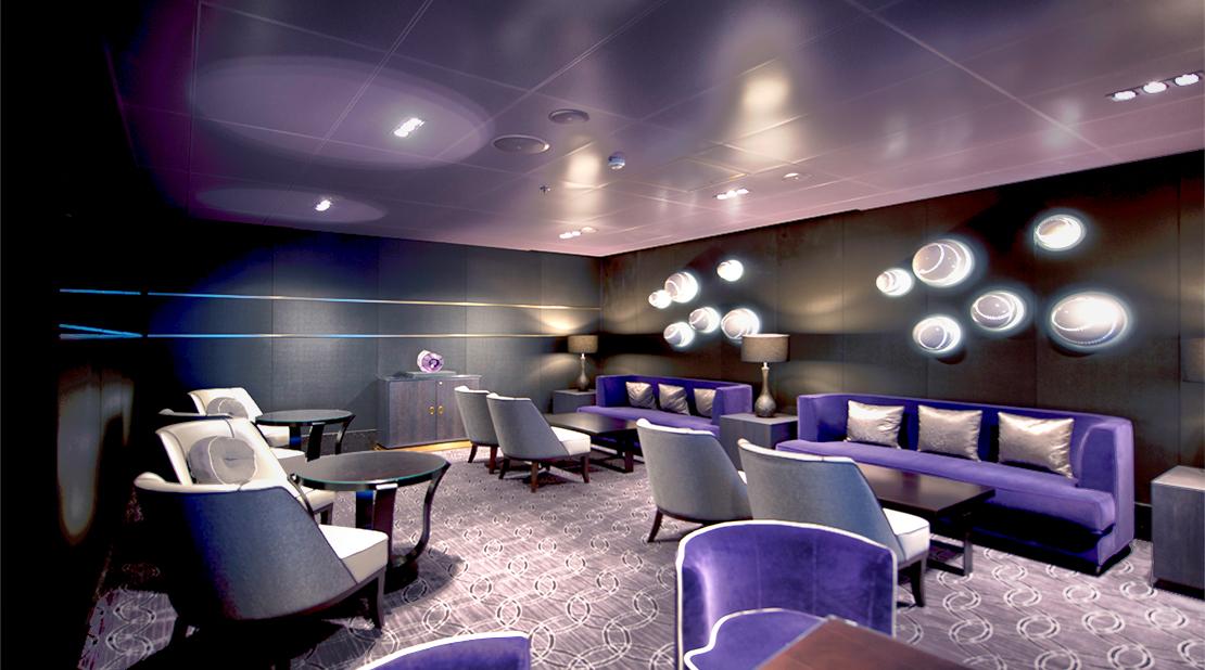 P&O Cruises Britannia Blus Bar