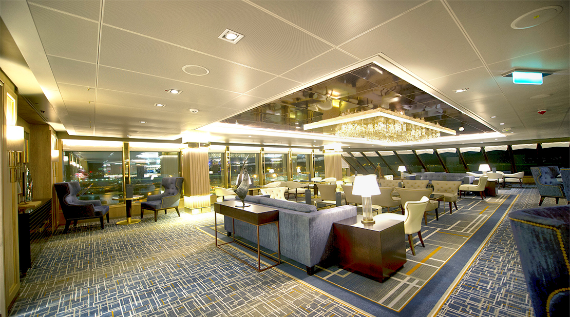 P&O Cruises Britannia Crows Nest