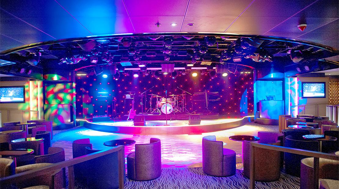 P&O Cruises Britannia Live Lounge