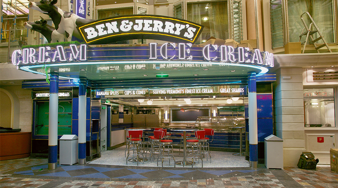 Royal Caribbean Freedom Of The Seas Ben & Jerry's
