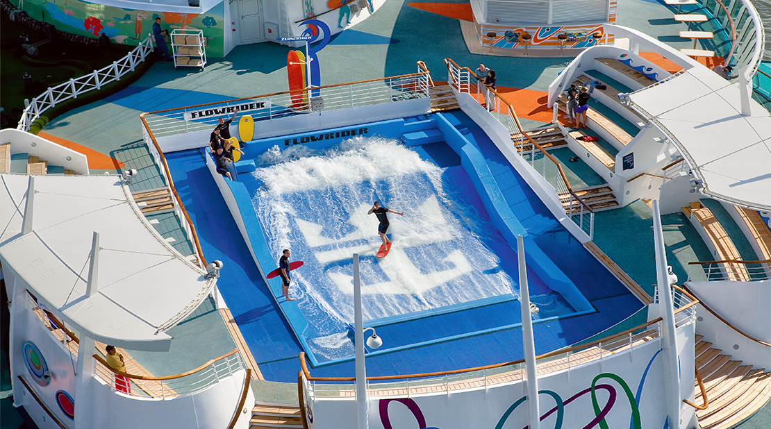 Royal Caribbean Freedom Of The Seas FlowRider