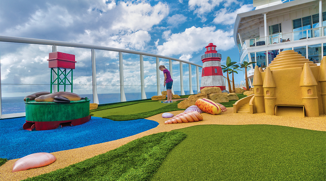 Royal Caribbean Harmony of the Seas Mini Golf