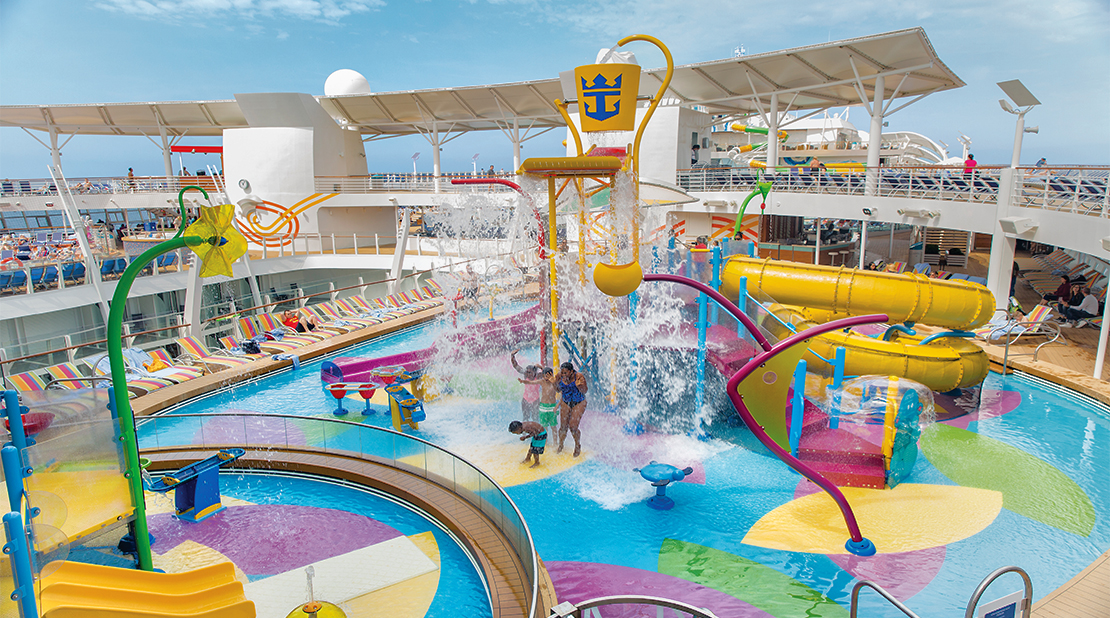 Royal Caribbean Harmony of the Seas Splashway