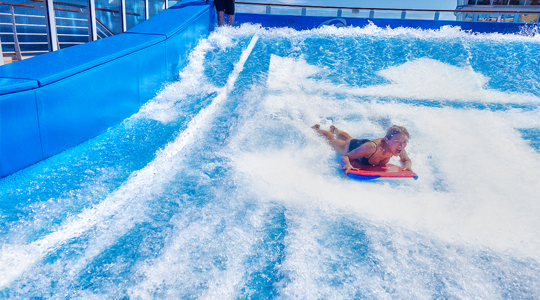 Royal Caribbean Harmony of the Seas FlowRider