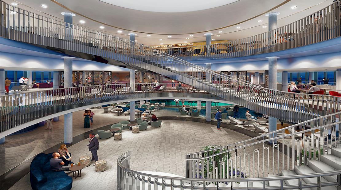 P&O Cruises Iona Atrium