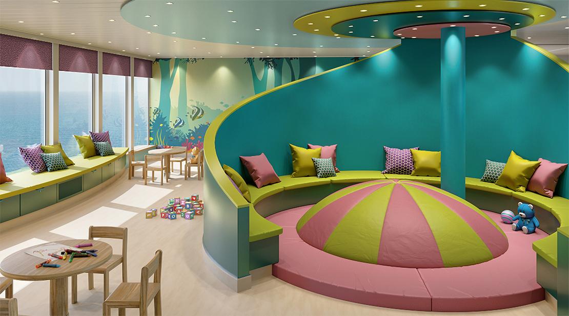P&O Cruises Iona Nursery