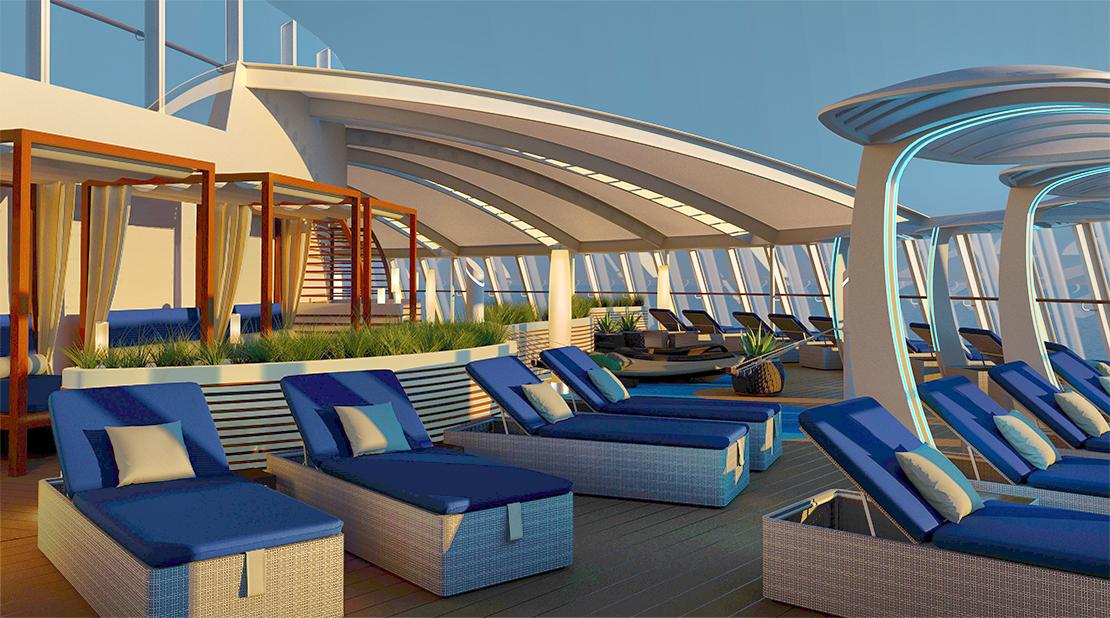 P&O Cruises Iona The Retreat
