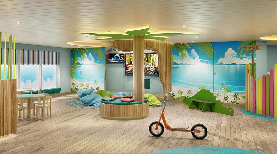 P&O Cruises Iona Surfers Children Club