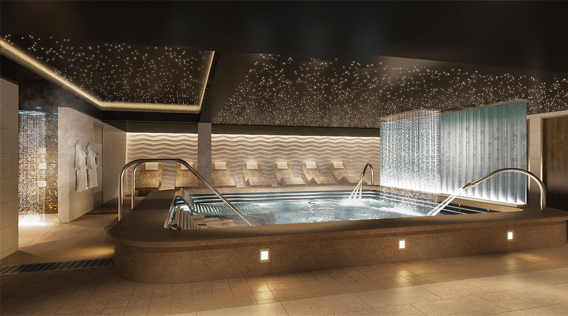 P&O Cruises Iona Thermal Suite