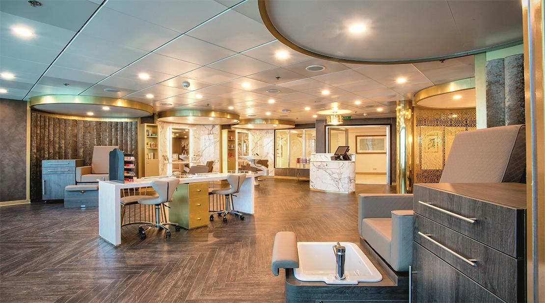 Marella Cruises Marella Explorer 2 Champneys Spa Salon