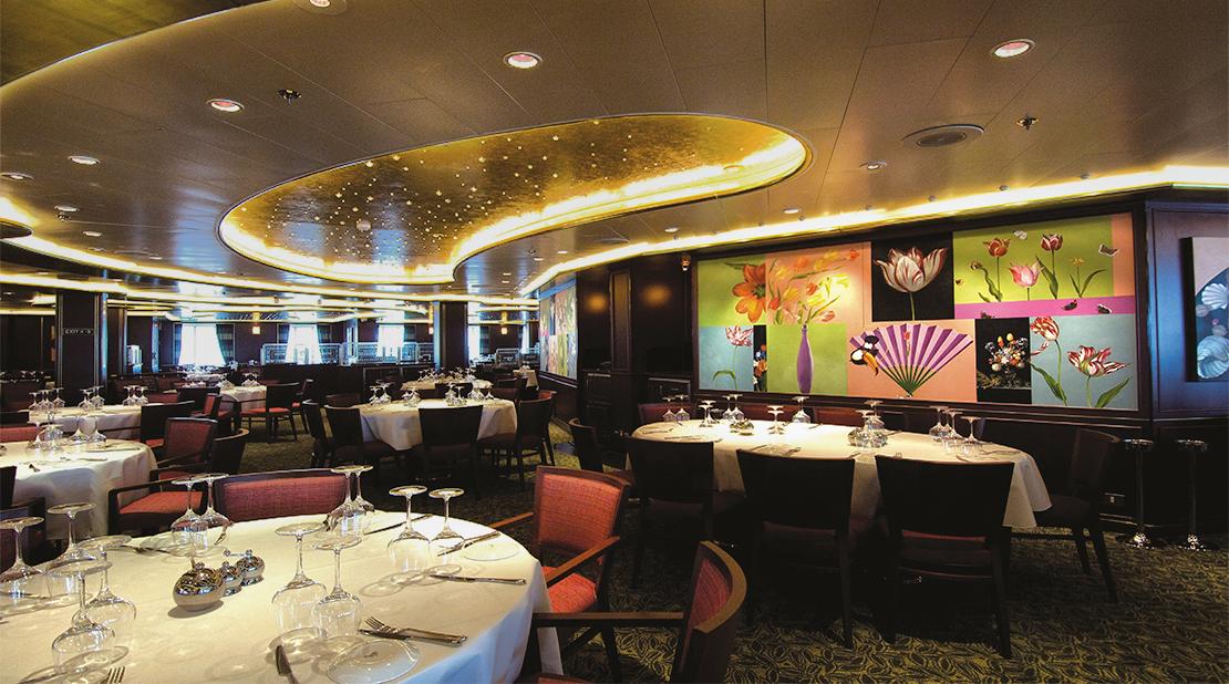 P&O Cruises Ventura The Bay Tree Restaurant