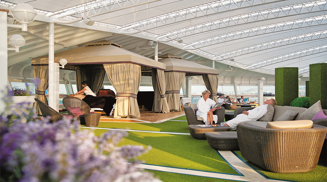 P&O Cruises Ventura The Retreat